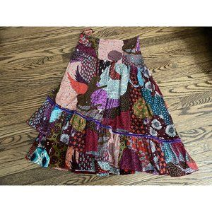 Chacok Printed Skirt Size 1 Small